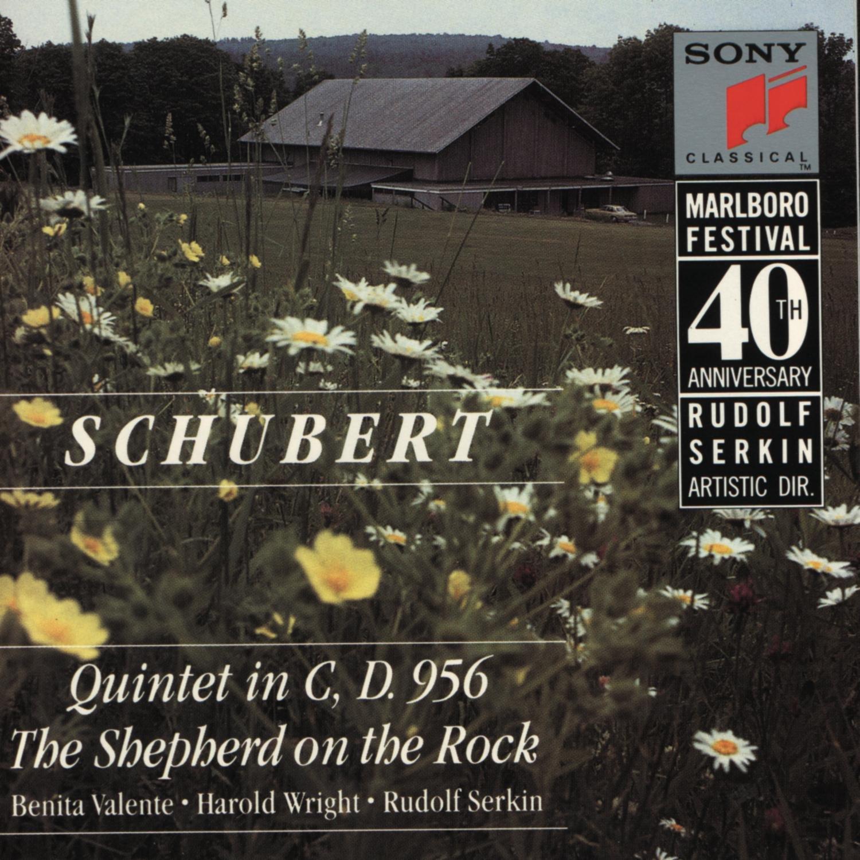 Schubert: Quintet in C major,D.956 / The Shepherd on the Rock