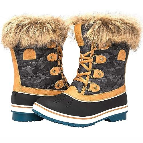 b9dde1c48eb GLOBALWIN Women's 1837 Winter Snow Boots
