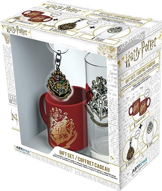 ABYstyle - Harry Potter - Caja de Regalo Hogwarts - Vaso + Llavero ...