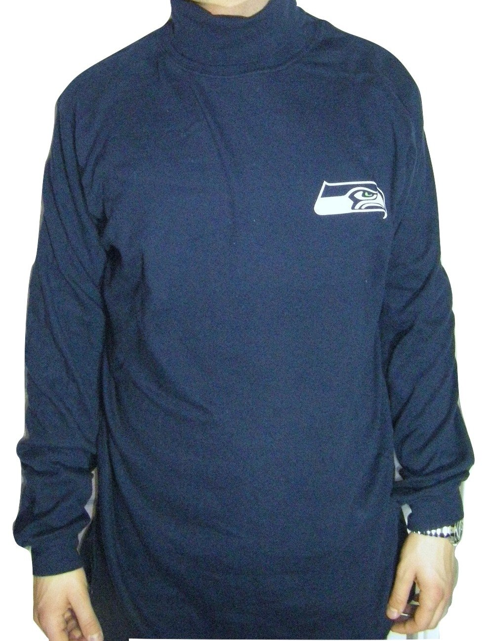 Amazon.com   Seattle Seahawks Men s Big   Tall Long Sleeve Turtle Neck    Sports   Outdoors ae6785ab6