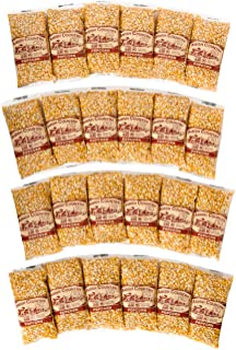 product image for Amish Country Popcorn | 24 (4 Oz Bags) Ladyfinger Kernels | Old Fashioned with Recipe Guide