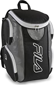 Fila Ultimate Tennis with Shoe Pocket, Black/Grey, One Size