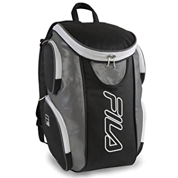 Amazon.com | Fila Ultimate Tennis with Shoe Pocket, Black/Grey | Casual  Daypacks