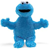 Sesame Street Cookie Monster Soft Stuffed Plush Toy 25cm, 30 x 18 x 18cm