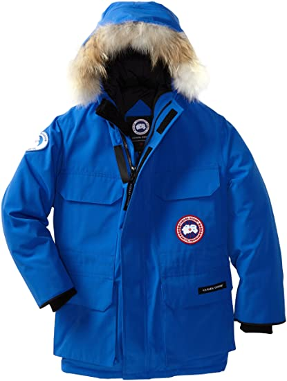 Canada Goose Youth Pbi Expedition Parka (Royal Pbi Blue, X-Small)