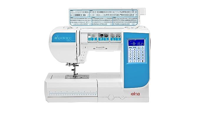 Máquina de coser Elna Experience 580 con 21 cm pulsera ...