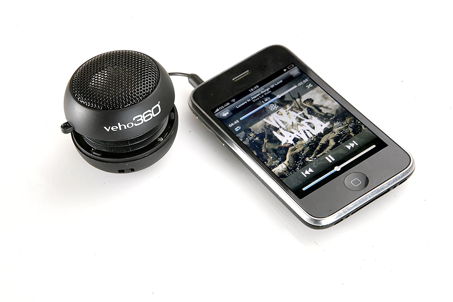 Veho M1 Portable Rechargeable Pop Up Wired Speaker for: Amazon.co.uk ...