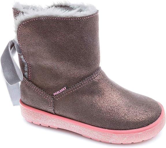 Pablosky Boys' 476757 Low-Top Sneakers, Grey (Gris Gris), 7 UK 7UK Child,Pablosky,476757