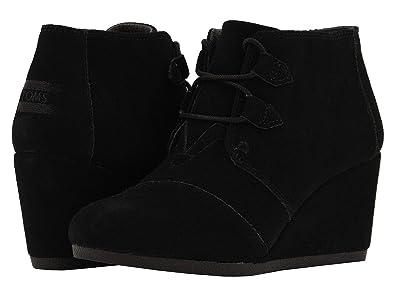 f29000ba6bd TOMS Black Suede 10012955 Kala Booties Women s Size 5.5