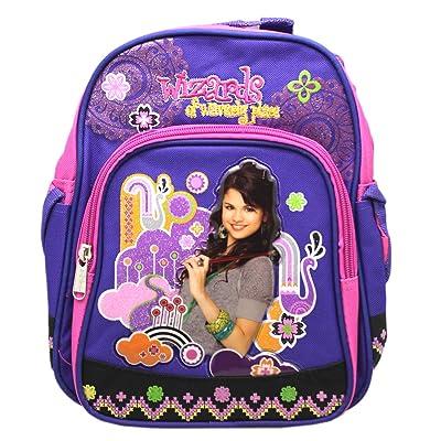Disney's Wizards of Waverly Place Violet/Pink Floral Toddler Mini Backpack   Kids' Backpacks