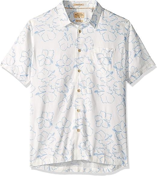 Quiksilver Mens Sea The World Button Down Shirt