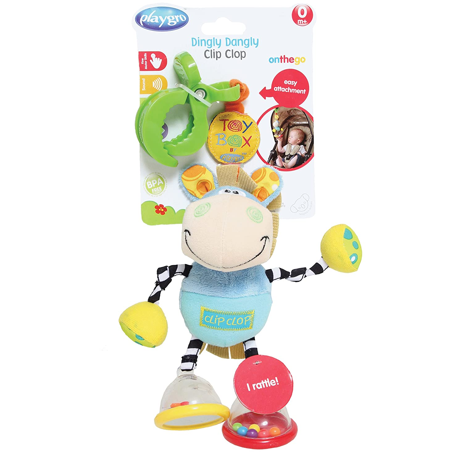 Ebebek gear travel high chair portable high chair 0 review - Amazon Com Playgro 0101140 Dingly Dangly Clip Clop Baby Toy Baby Stroller Toys Baby