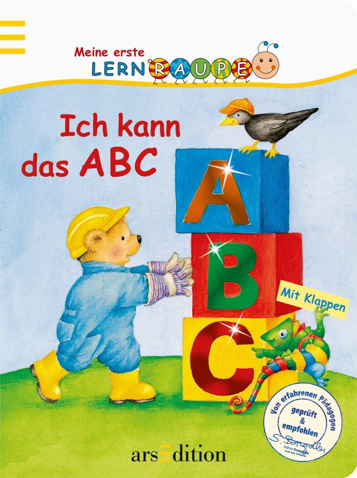 Ich kann das ABC (Meine erste Lernraupe)
