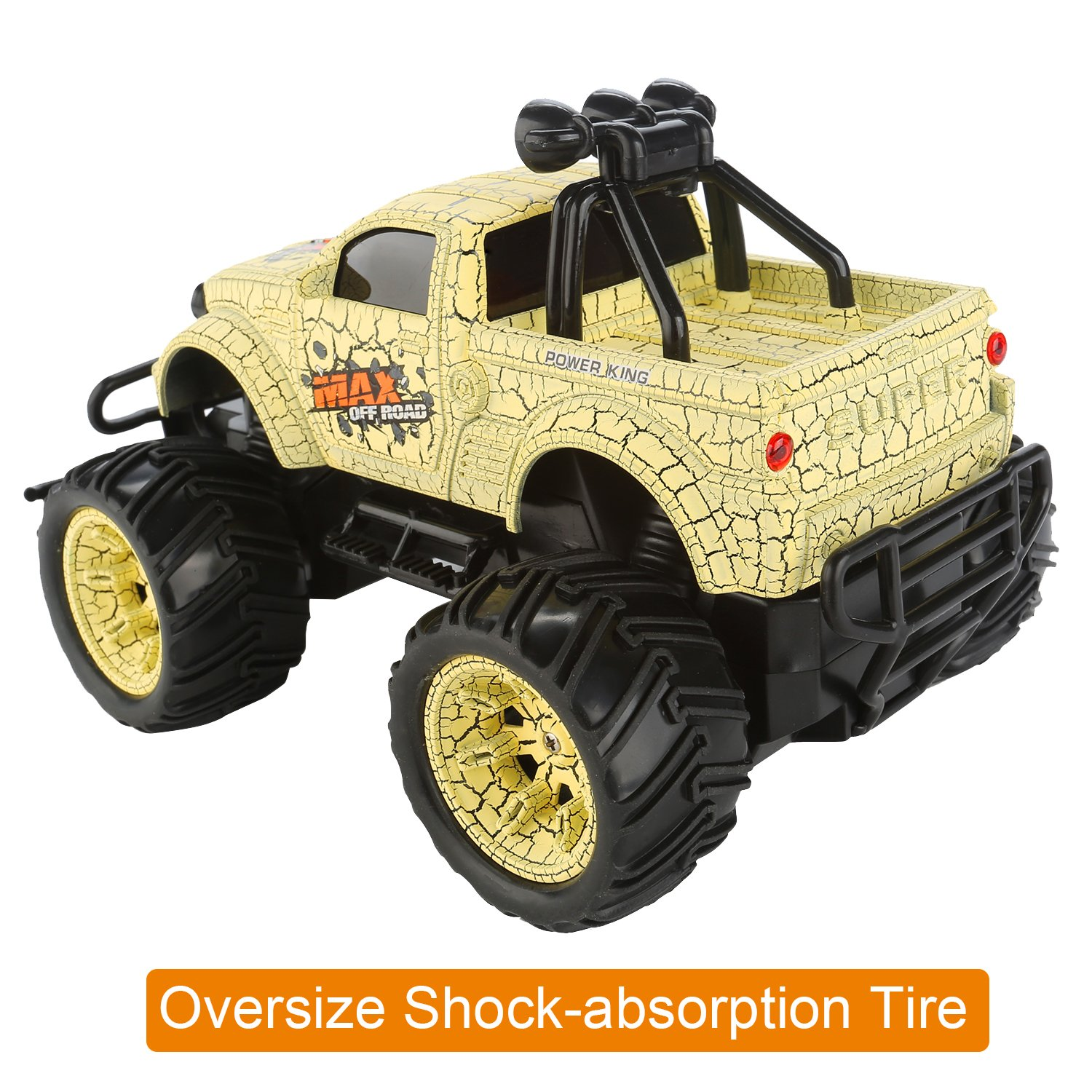 Amazon.com: QuadPro NX5 Remote Control Car, 2WD 1:20 Scale Monster ...