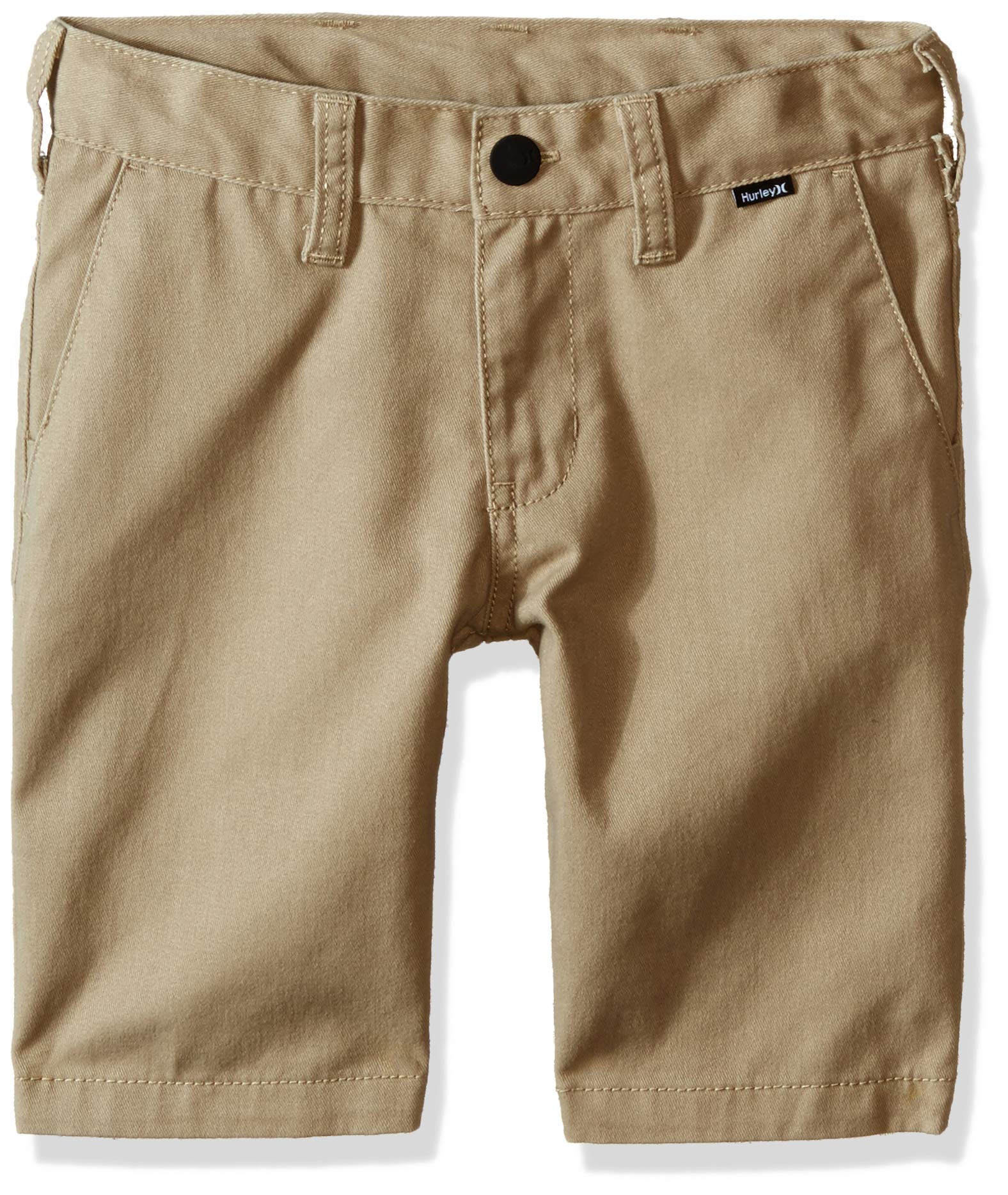 Hurley Boys' Little Walk Shorts, Khaki, 6