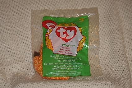 fe55c0005c0 Amazon.com  TY Teenie Beanie Babies Twigs the Giraffe Stuffed Animal ...