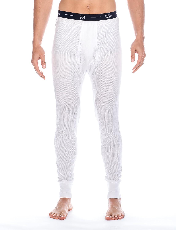 Noble Mount Mens Waffle Thermal Long John Underwear