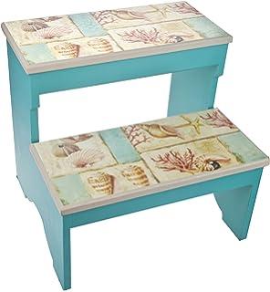 Beautiful Decorative Step Stools Kitchen 2 Wood Stool On Ideas