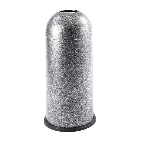 Amazon.com: Safco - Receptáculos de basura con cúpula negra ...