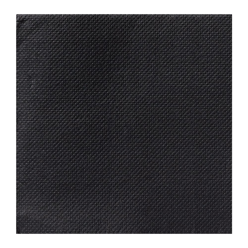 Hoffmaster 200202 FashnPoint Nuevo Nap Beverage Napkin, Ultra-ply, 1/4 Fold, 8'' x 8'', Black (Pack of 2400)