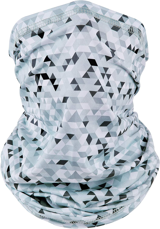 EXski UV Face Mask, Bandana Neck Gaiter Balaclava Summer Cooling Breathable for Cycling Fishing Outdoors