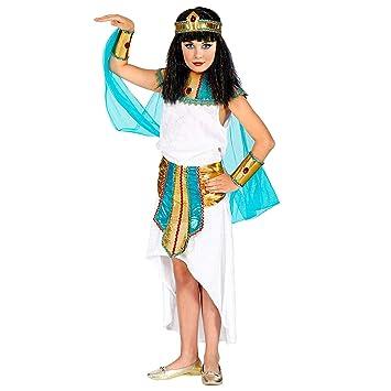 WIDMANN 09415 - Disfraz infantil de reina agíptica (116 cm), color ...