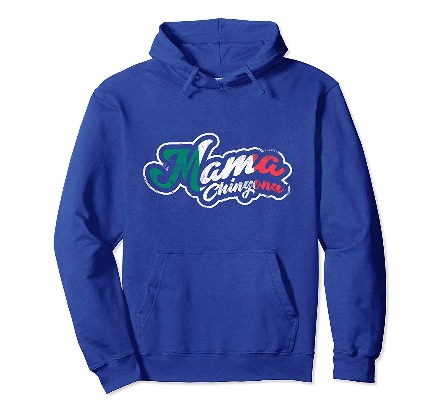 Mexican Latina Madre Mama Chingona Pullover Hoodie-alottee gift