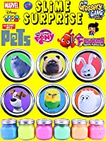 THE SECRET LIFE OF PETS Slime Surprise Toys - Blind Bags, Grossery Gang, NEW Fashems