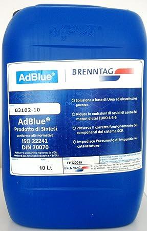 AdBlue Brenntag Jerry Can, 10 L: Amazon co uk: Car & Motorbike