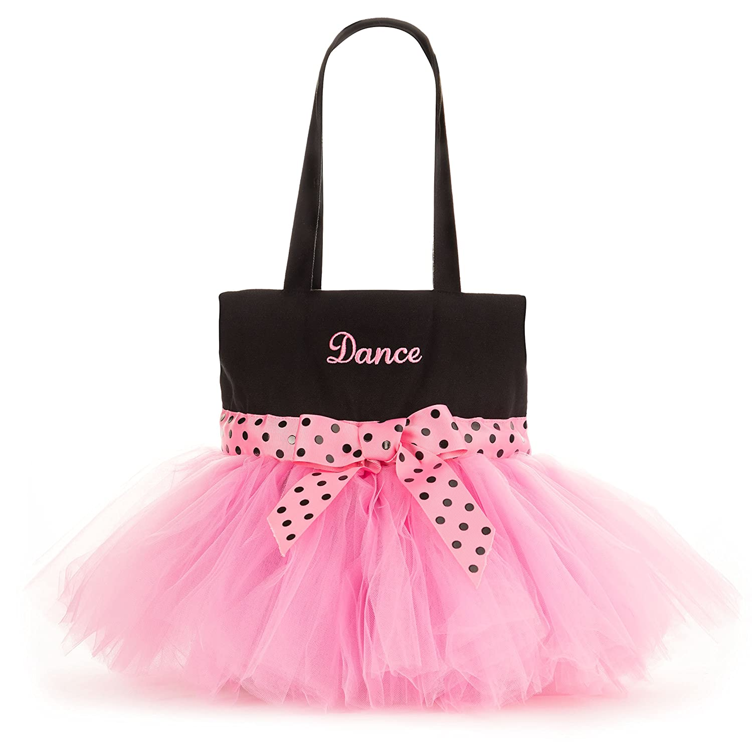 Amazon.com   Pardao Cute Dance Bag for Little Girls - Ballerina Tutu Bag  for Kids - Small Ballet Shoe Tote   Sports   Outdoors 05d3abf21ce9