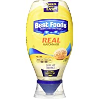 Best Foods Squeeze Real Mayonnaise, 20 oz, (Pack of 3)