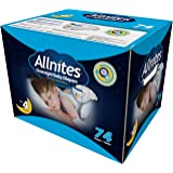 Allnites Overnight Baby Diapers (Size 4, 74-Count)