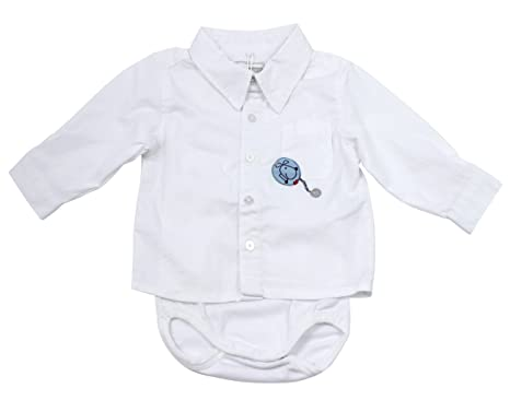 de7e5b529cd272 NAME IT Baby Jungen Hemd weiß langarm Hogan mit Body