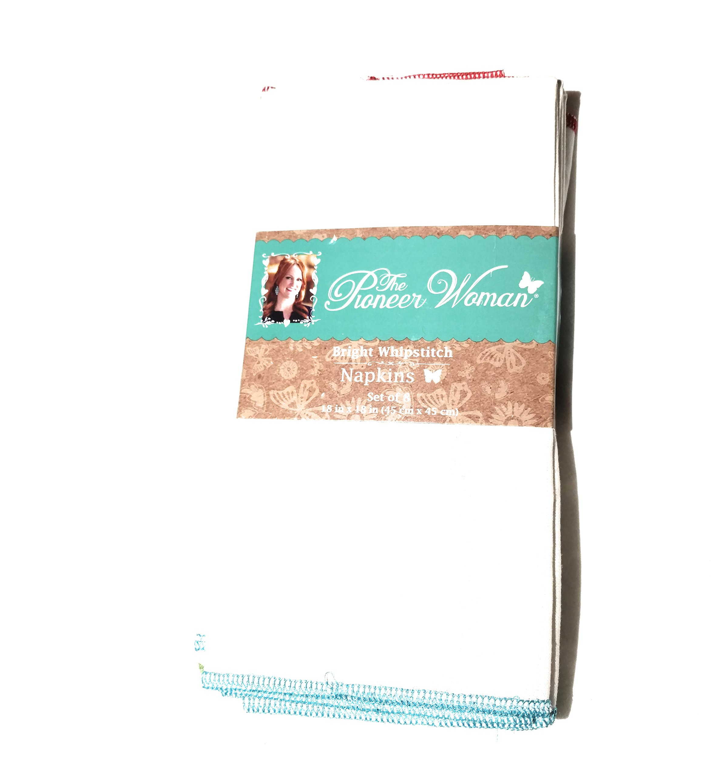 The Pioneer Woman Whipstitch Napkins 4ct