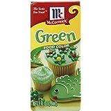 McCormick Food Color, Green, 1 fl oz