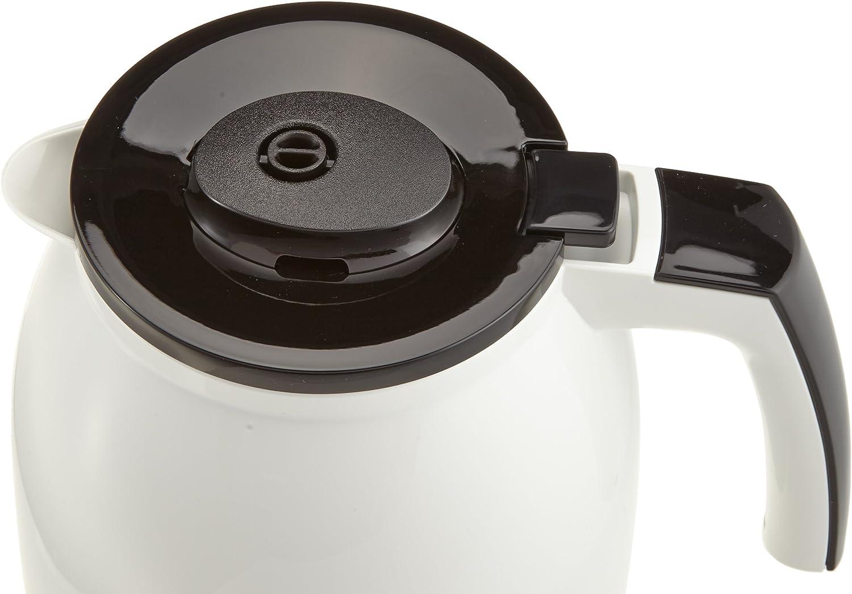 Melitta Easy Jarra de Recambio Isotérmica para cafetera de Goteo Enjoy II Top Therm 1017-08 Negra, 1.25 litros, Acero Inoxidable, metálico: Amazon.es: Hogar
