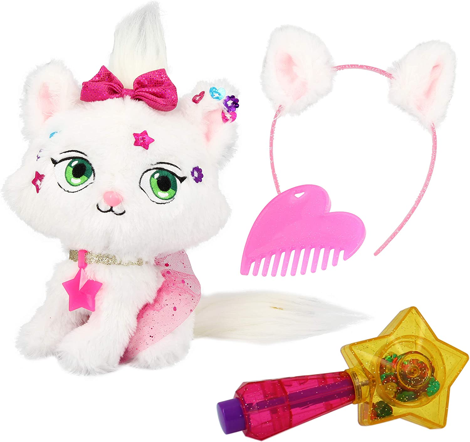Shimmer Stars Plush Pet You Can Decorate Jelly Bean The Cat Toys Games Amazon Canada