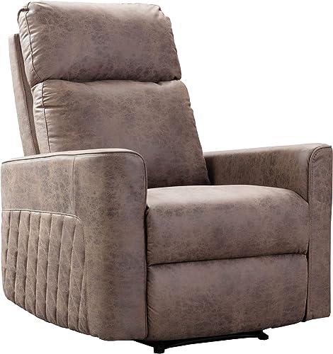 LinkRomat Wingback Recliner Chair