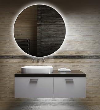 Badezimmerspiegel Mit Beleuchtung Led Spiegel 70 Cm Durchmesser