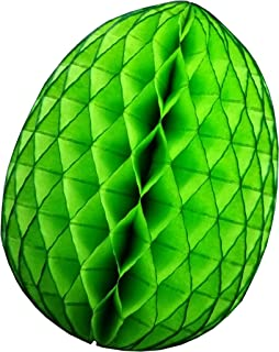 product image for 3-Pack 9 Inch Honeycomb Tissue Paper Easter Egg Decoration (Lime)