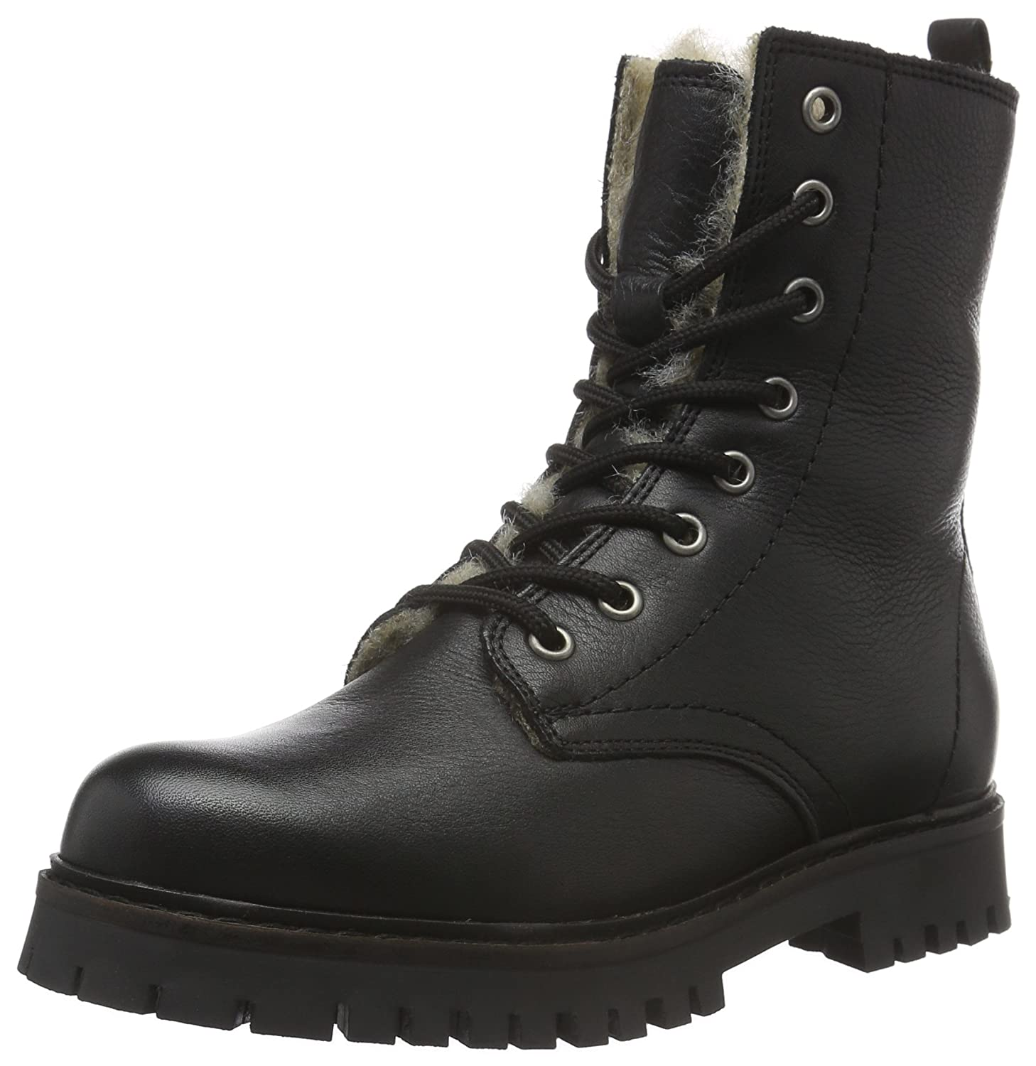 Bianco Damen Warme Military 33-48450 Combat Stiefel