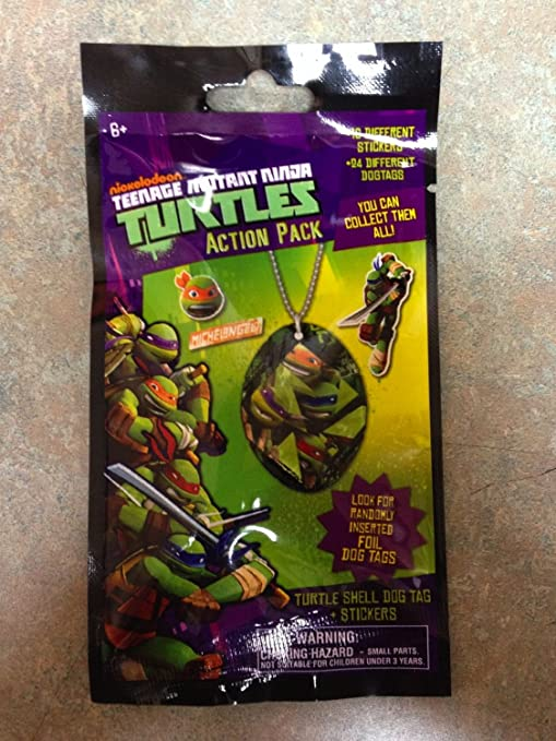 Amazon.com: Nickelodeon Teenage Mutant Ninja Turtles – Pack ...
