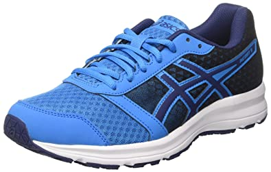 asics blue running shoes