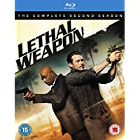 Lethal Weapon: The Complete Season 2 (4-Disc Box Set) (Slipcase Packaging + Region Free + Fully Packaged Import)