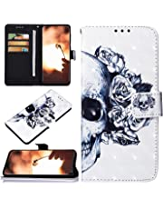 Robinsoni Custodia Compatibile con Samsung Galaxy A70 Case Portafoglio Cover Libro Case Pelle PU Antiurto Case Wallet Taccuino Cover Libretto Cartone Animato Case Folio Flip Cover Colorato Cover