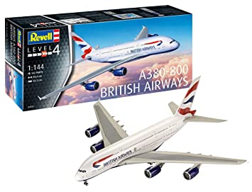 Revell- A380-800 Maqueta Airbus A380 - 800 British Airways ...