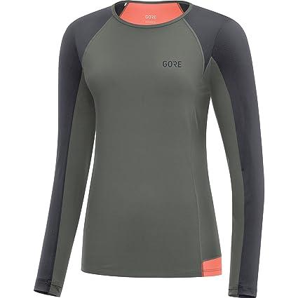 Amazon.com  GORE Wear Women s Breathable Long Sleeve Running Shirt ... e8b8e78be