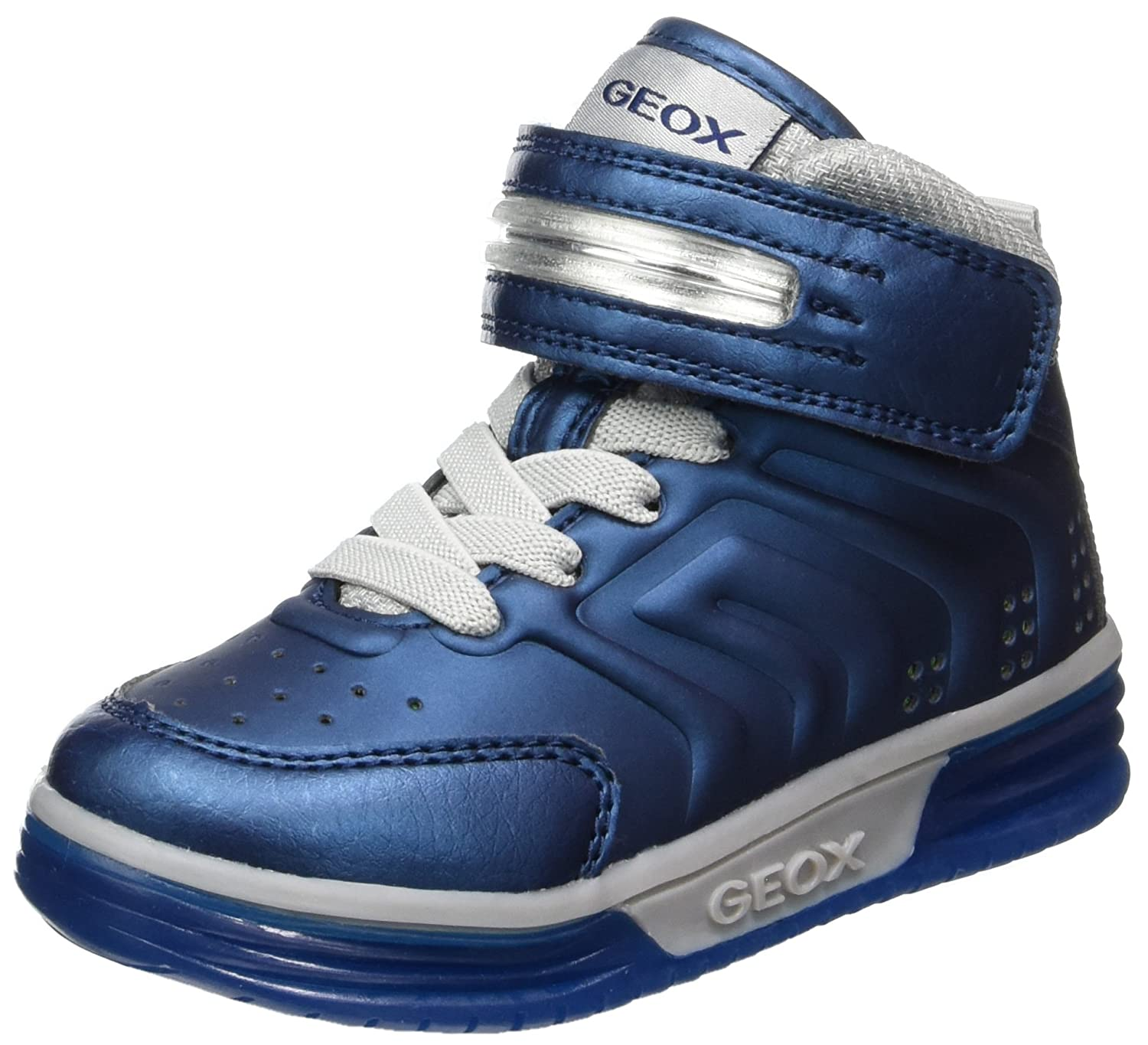 Boys/' Hi-Top Trainers Geox J Argonat Boy B
