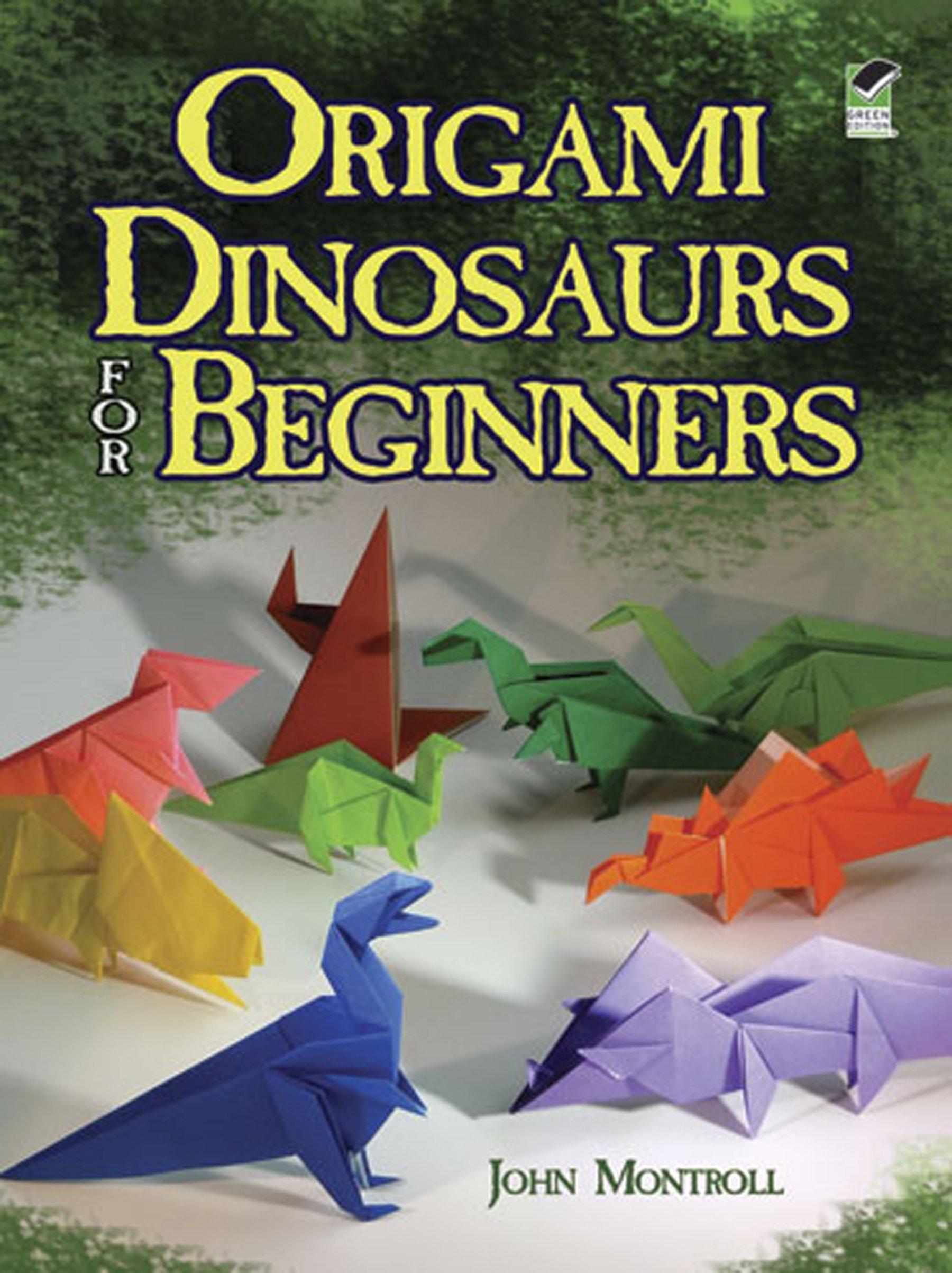Easy origami dover origami papercraft amazon john origami dinosaurs for beginners dover origami papercraft jeuxipadfo Images