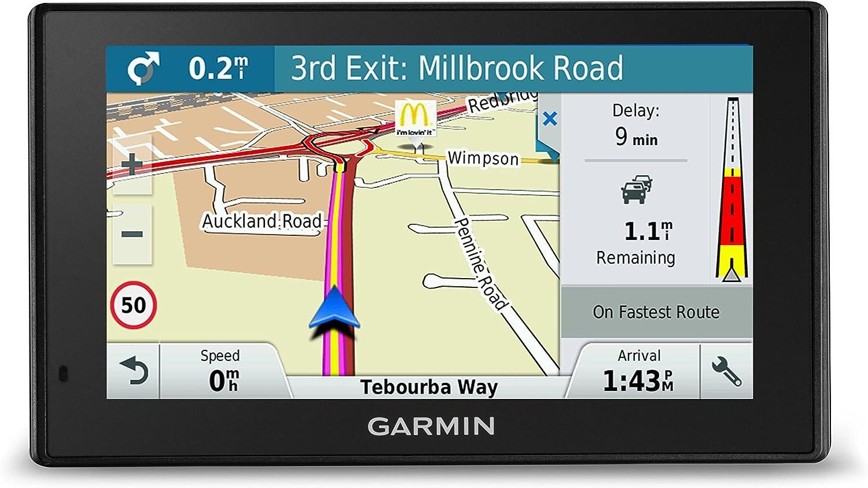 Garmin Drive Smart 50 We LMT-D Navegador GPS con mapas de por Vida y Tráfico Digital, Negro, Pantalla 5